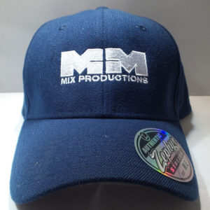 The M+M Mixes Official Cap – Blue