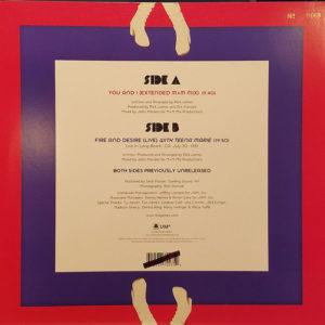 Rick James Rsd Vinyl Back